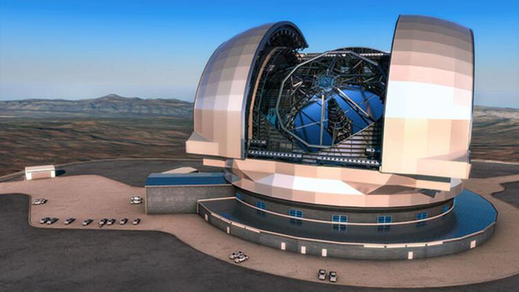 Türkiye'nin En Büyük Kızılötesi Optik Teleskopunun Ana Kütlesi Hazır!