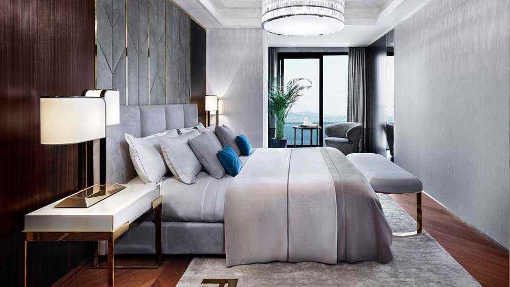 Büyükyalı yatak odası