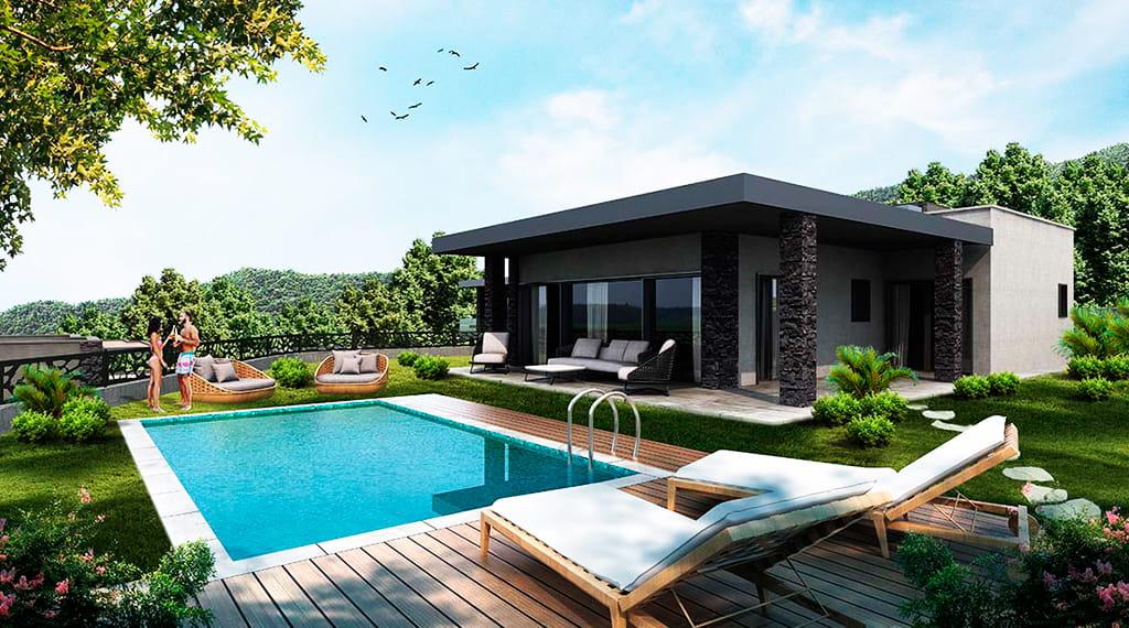 bodrum villa projeleri