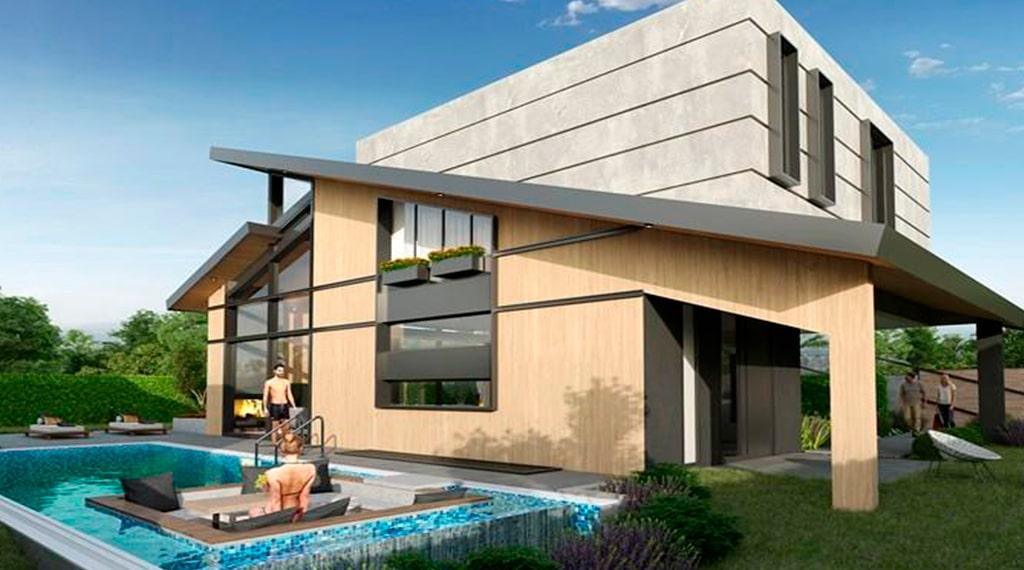 Carmel Inn Ayayorgi çeşme villa projesi