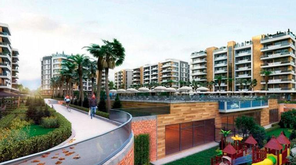 Antalya konut projesi