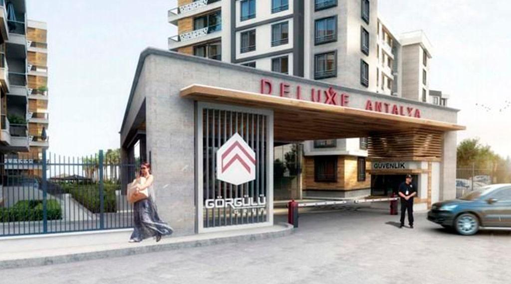 Deluxe Antalya Kepez konut projesi
