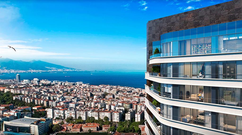 Evora İzmir örnek daire