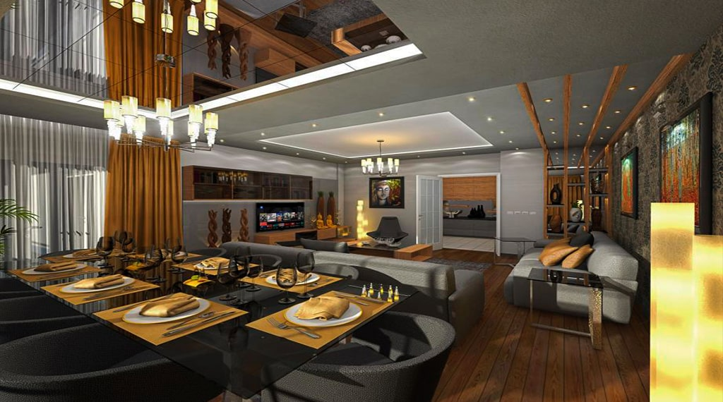 Gold Towers Residence projesi
