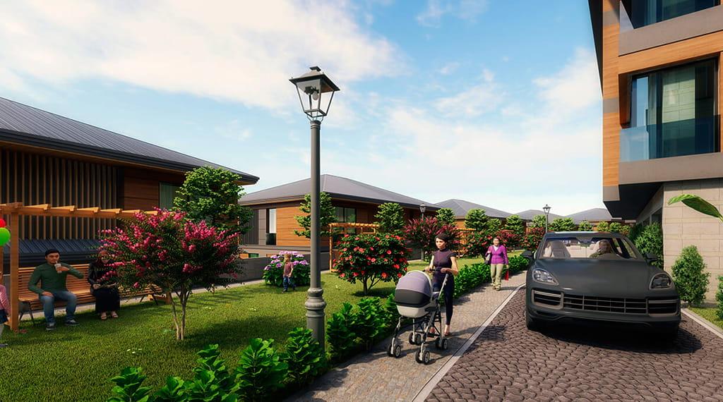 İnci Villaları Başakşehir villa projesi