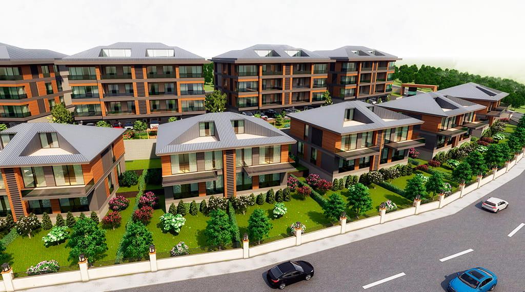 yeni villa projeleri başakşehir