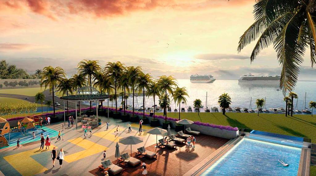 İzka Port Bayraklı konut projesi