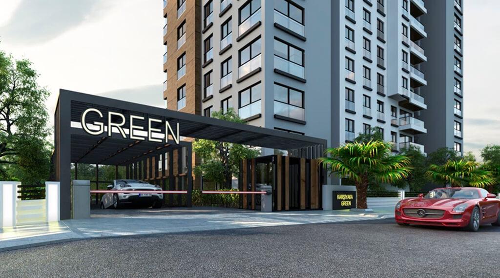 Karşıyaka Green konutları projesi