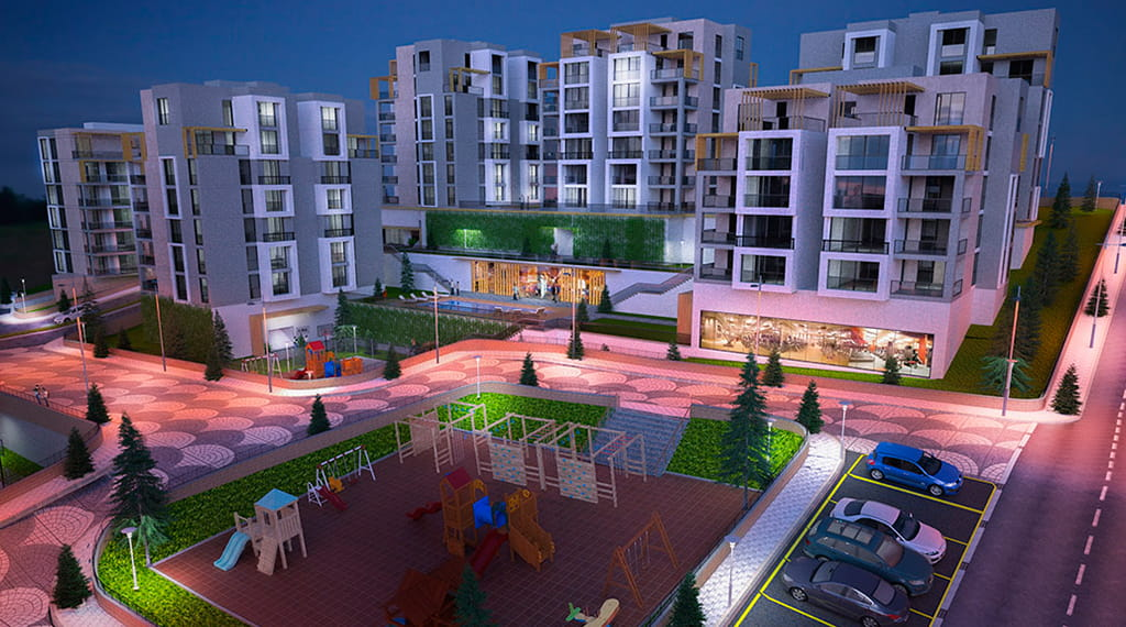 Maviden City projesi