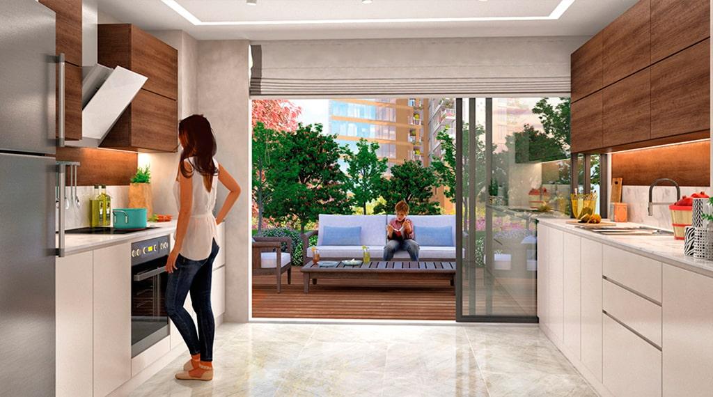 Narlı Bahçe Evleri konut projesi