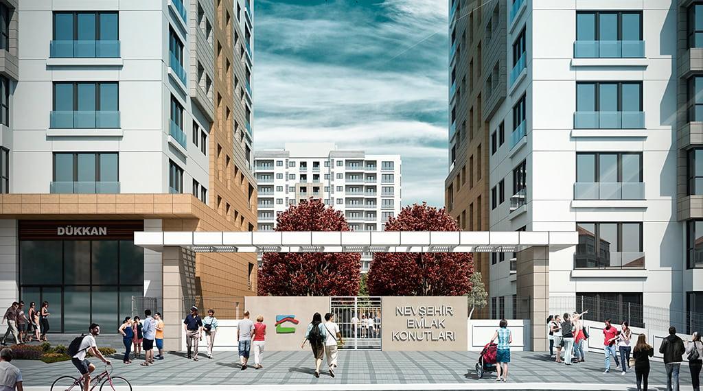 emlak konut projeleri Nevşehir