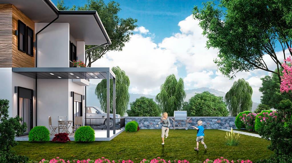 Nif Erbek evleri projesi