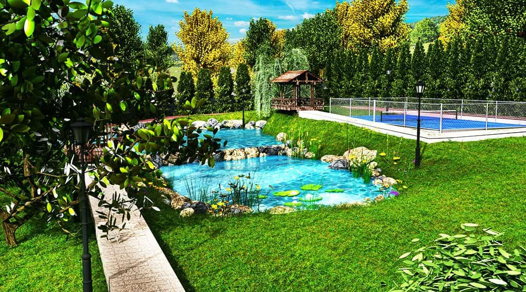 Alpuka Göl Park Evleri