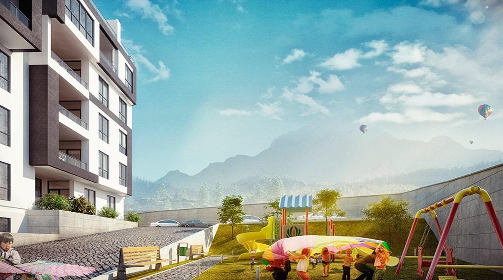 Park Vista Evleri konut projesi