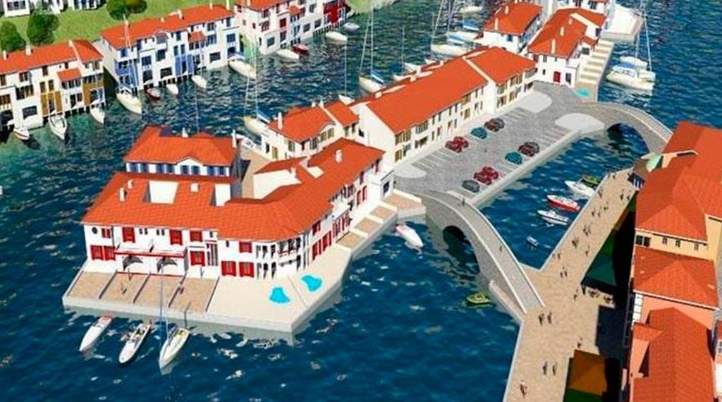 Port Poseidon kazikli