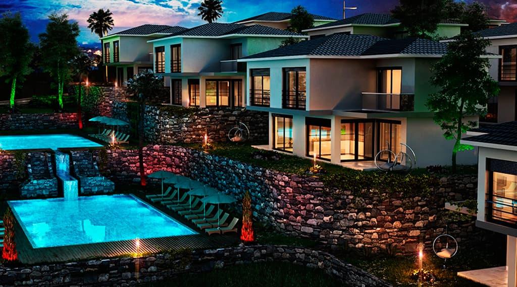 deniz manzaralı villa projeleri