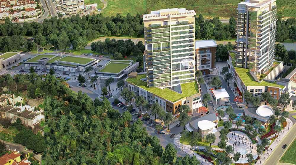 Projeskop Bahçeşehir Park evleri