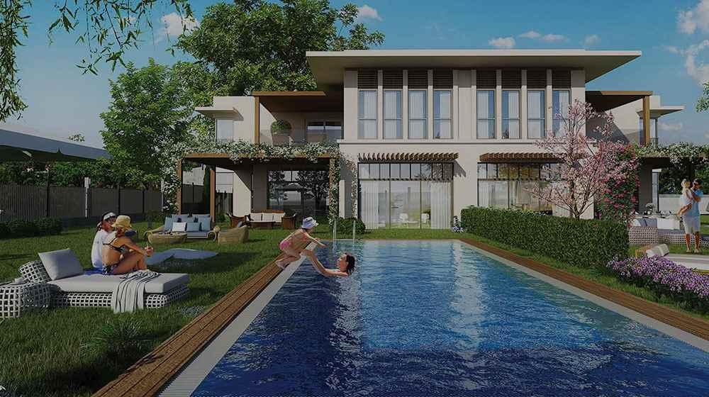Eston Şehir villa fiyatları