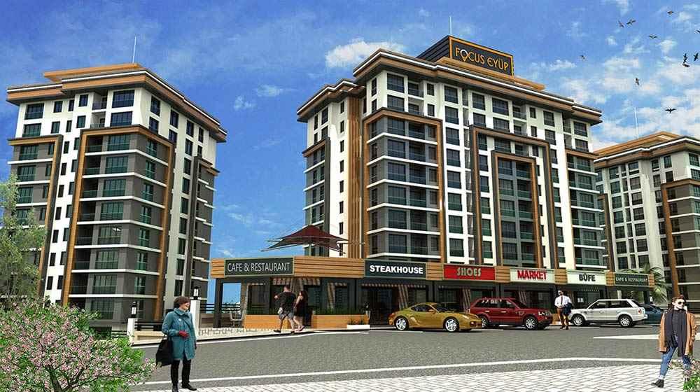 Focus Eyüp İstanbul projesi