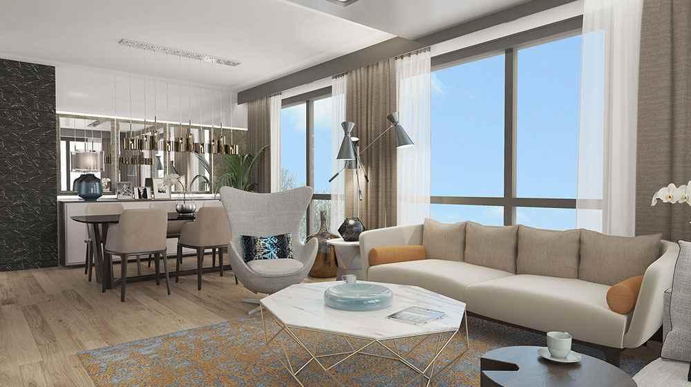 Mirage Residence örnek daire