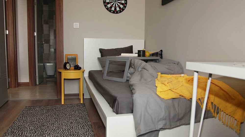 Radius Residence  projesi örnek daire