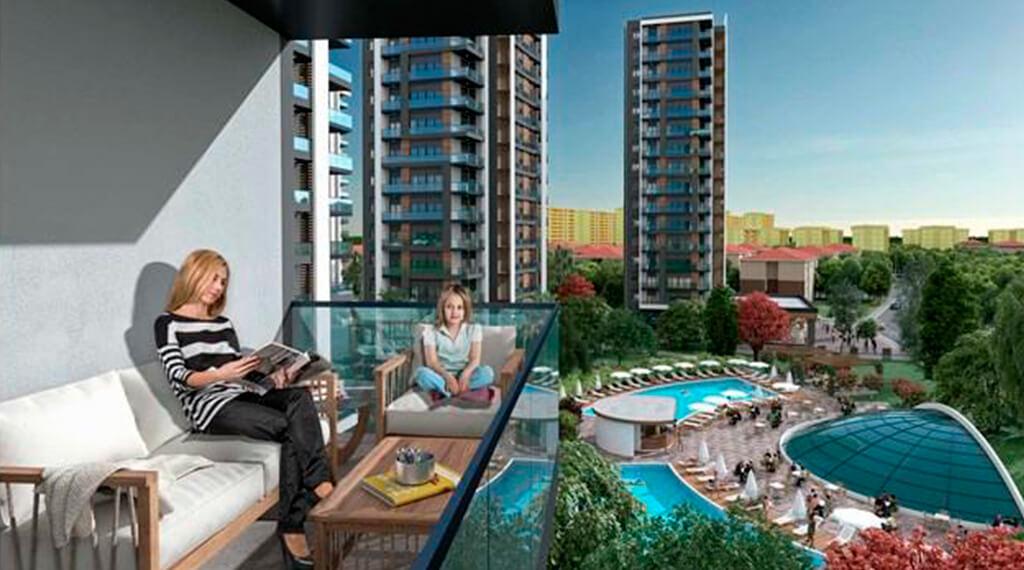 Rengi Antalya konut projeleri