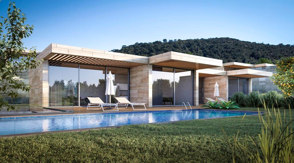 Skyhill Homes villa projesi bodrum
