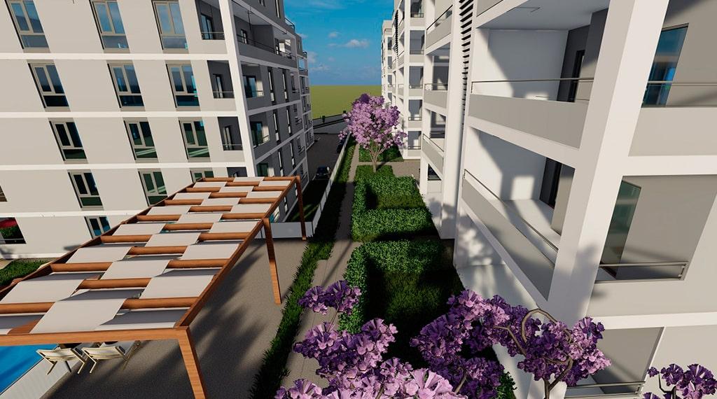 Sydney Garden evleri projesi