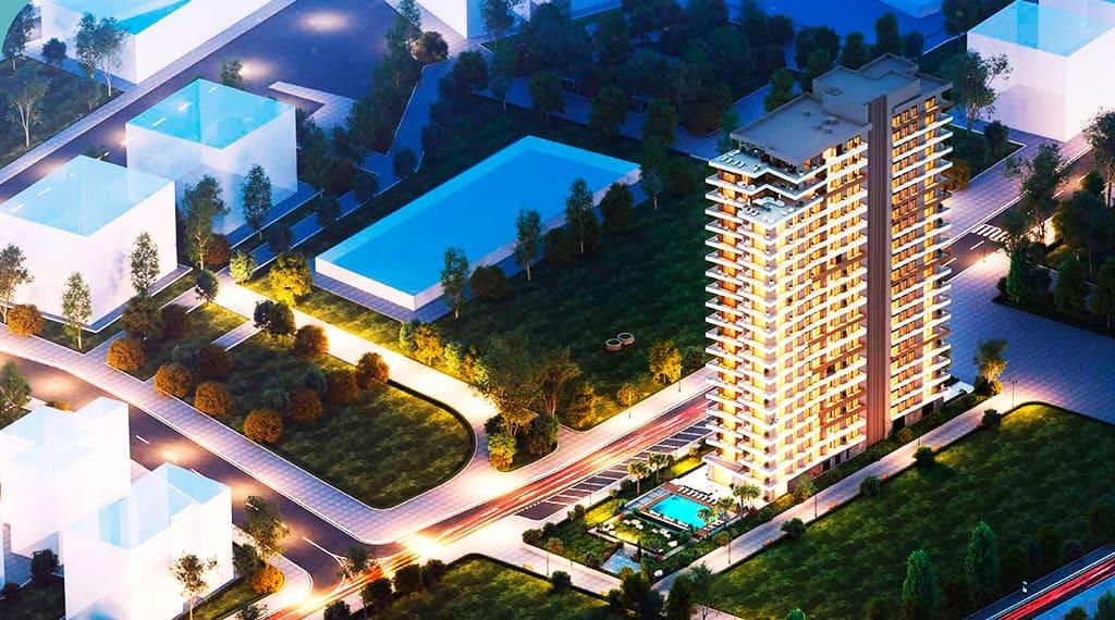 Trademark Elif Tower Bornova satılık