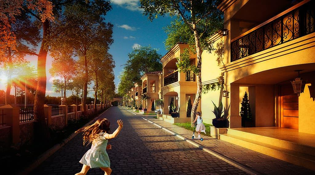 Villa Garden Güneyli projesi