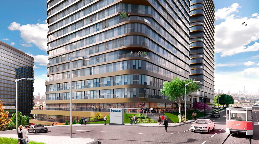 istanbul konut projeleri Yenitepe Kadıköy