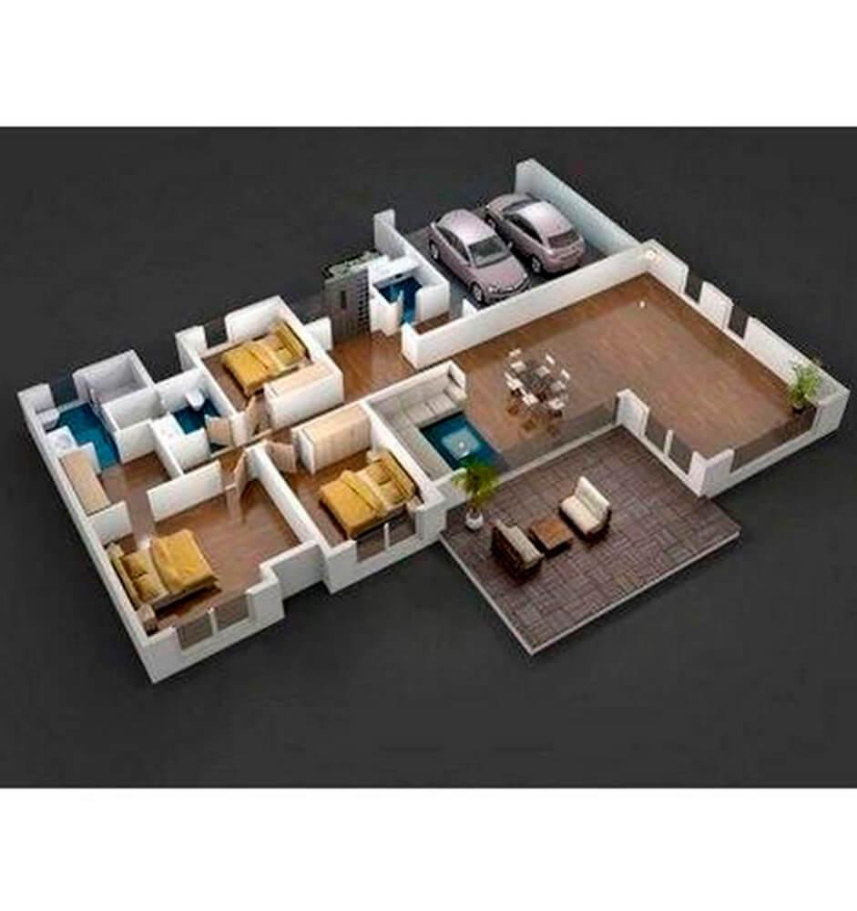 Casa Lusso Lalin Evleri 5+1 Kat Planları