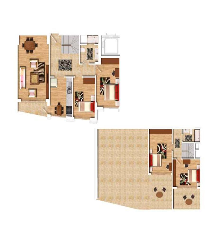 Şehr-i Ala Residence 4+1 Kat Planları